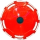 Колпаки колесные R-22.5 задний пластик красный 1шт