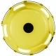 Колпаки колесные R-22.5 задний пластик желтый 1шт