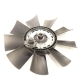 Вентилятор ЯМЗ-7511.10,658.10 крыл. 660 мм с вязкостной муфтой СБ СПЕЦМАШ