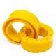 Автобафер пружины межвитковый 100-120мм 2шт.CS-20 Comfort полиуретан желтый