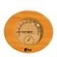 Термометр с гигрометром Банная станция овальный