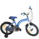 """Велосипед 16"""" BEETLE STITCH (4-6 лет) голубой 1-ск."""