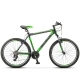 """Велосипед 26"""" STELS NAVIGATOR 610 16"""" Тёмно-серый/зелёный"""