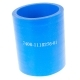 Патрубок КАМАЗ-ЕВРО турбокомпрессора силикон синий 50х61х0,29 L=70мм