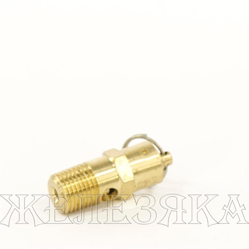 Предохранительный клапан в компрессоре