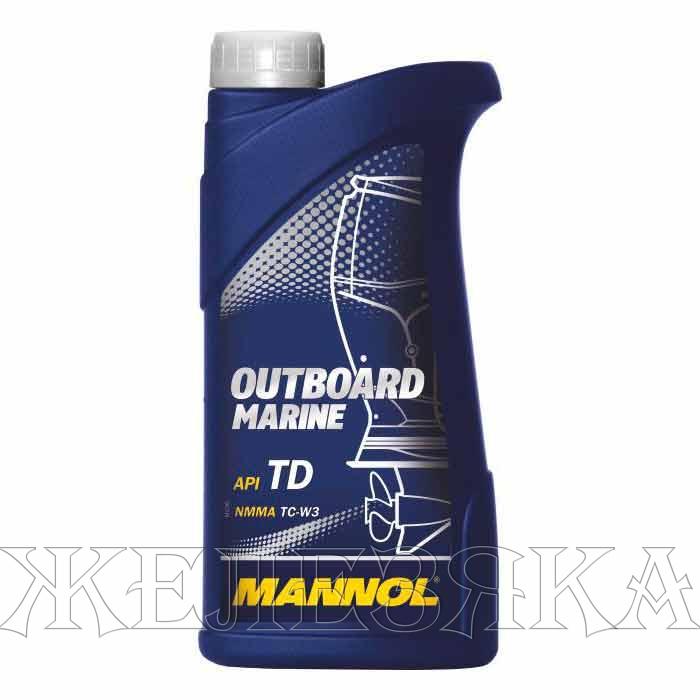 масло для лодочных двухтактных двигателей mannol