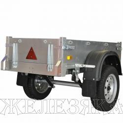 Прицеп для квадроцикла ССТ-7132 МИНИ сталь оцинков.1500х760х270мм г/п 550кг
