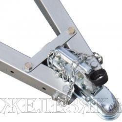 Прицеп для квадроцикла ССТ-7132 МИНИ сталь оцинков.с тентом H=300мм,1500х760х270мм г/п 550кг