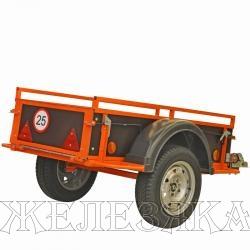 Прицеп для квадроцикла ТРОФИ R-13 Кузов,мм:1500x720x380 г/п 400кг