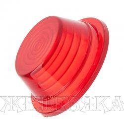 Рассеиватель фонаря габаритного E-101 красный