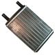 Радиатор отопителя ГАЗ-3302 Н/О алюминиевый LUZAR
